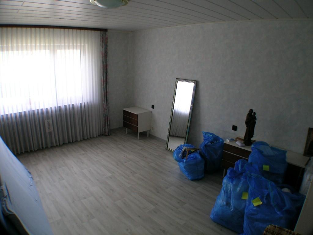 Das Schlafzimmer im EG