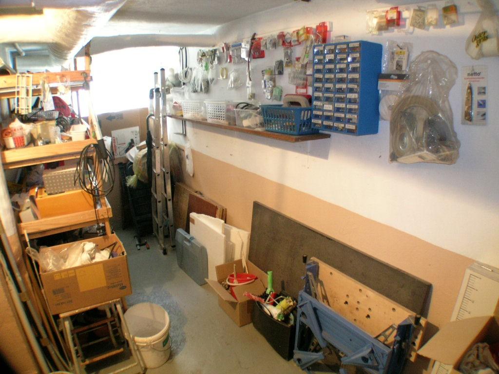 Kleiner Werkstattkeller