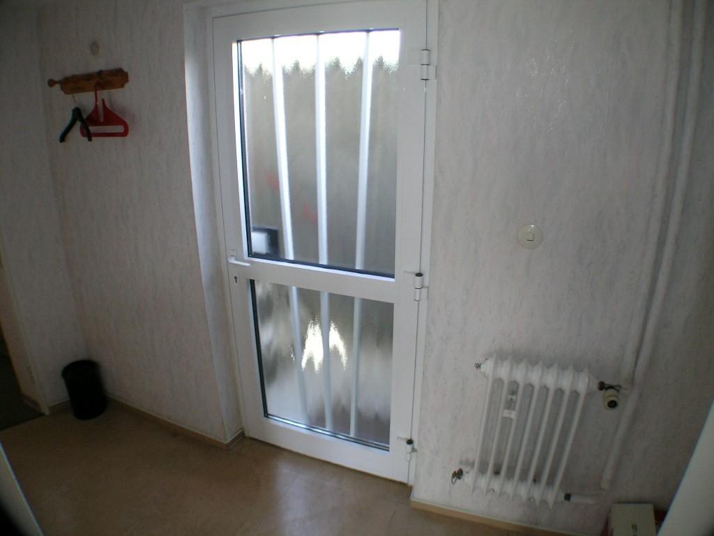 Eingangsbereich der Souterrainwohnunng